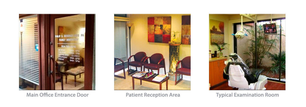 DeSenze Dentistry in Pompano Beach Florida is a full service family dental practice.