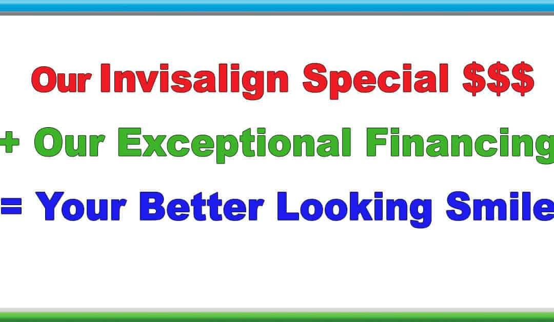 Exceptional Invisalign Financing Available!